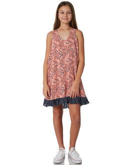 POPPY PRINT KIDS GIRLS EVES SISTER DRESSES + PLAYSUITS - 9920046POP