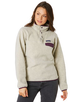 OATMEAL HEATHER WOMENS CLOTHING PATAGONIA JUMPERS - 25455OHDP