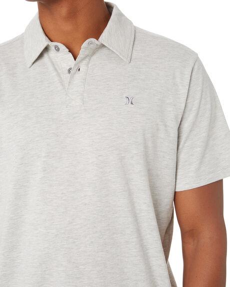 GREY HEATHER MENS CLOTHING HURLEY SHIRTS - MKT0008290H050