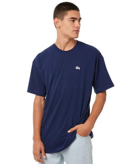 DARK NAVY MENS CLOTHING STUSSY TEES - ST071002DNVY