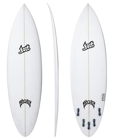 CLEAR BOARDSPORTS SURF LOST SURFBOARDS - LOROCKUPCLR