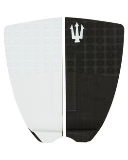BLACK WHITE BOARDSPORTS SURF FAR KING TAILPADS - 1217BLKWH