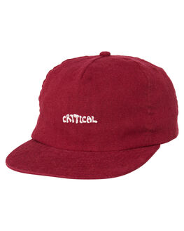 SANGRIA MENS ACCESSORIES THE CRITICAL SLIDE SOCIETY HEADWEAR - HW1884SANG