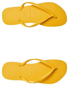 BANANA YELLOW WOMENS FOOTWEAR HAVAIANAS THONGS - 40000301652