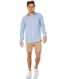 CHAMBRAY MENS CLOTHING ACADEMY BRAND SHIRTS - 18S840CHAM
