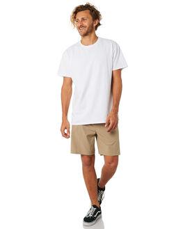 KHAKI MENS CLOTHING HURLEY SHORTS - 895085235
