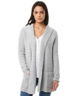 WHITE WOMENS CLOTHING VOLCOM KNITS + CARDIGANS - B0711705WHT