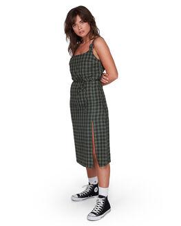 GREEN WOMENS CLOTHING ELEMENT DRESSES - EL-207865-G01