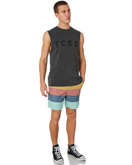 PHANTOM MENS CLOTHING THE CRITICAL SLIDE SOCIETY SINGLETS - AST1720PHNTM