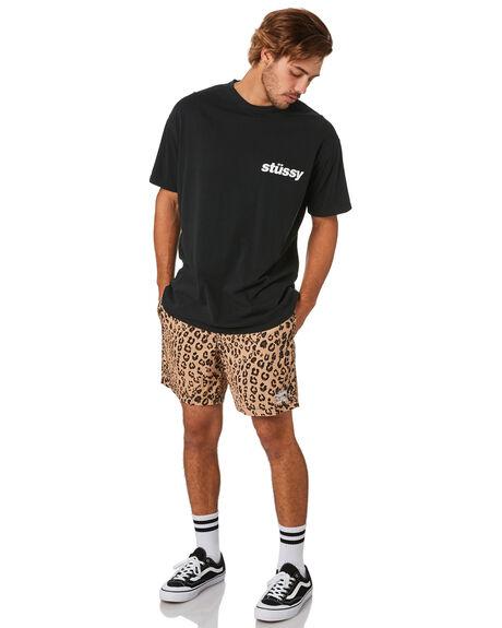 TAN MENS CLOTHING STUSSY SHORTS - ST093604TAN