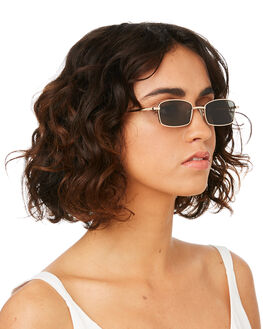 GOLD FIREBALL WOMENS ACCESSORIES MINKPINK SUNGLASSES - MNP1908200GLD
