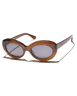SMOKE FORTUNE WOMENS ACCESSORIES RAEN SUNGLASSES - ASH-0171SMKFT