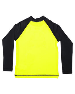 SAFETY YELLOW BOARDSPORTS SURF QUIKSILVER BOYS - EQKWR03023XGGK