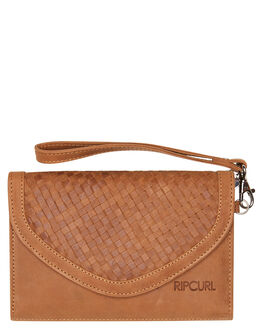 TAN WOMENS ACCESSORIES RIP CURL PURSES + WALLETS - LWLEC11046