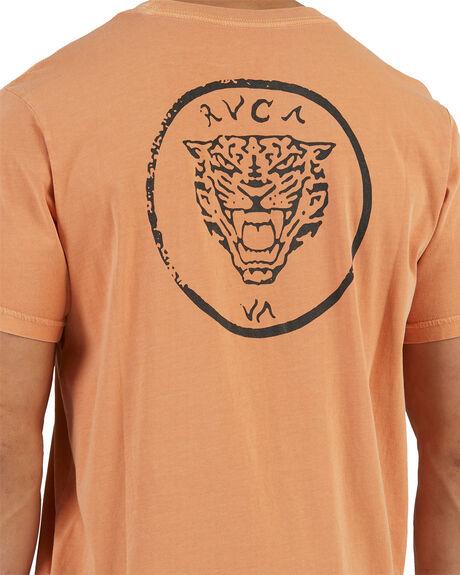 CANYON ROSE MENS CLOTHING RVCA TEES - R118047-845