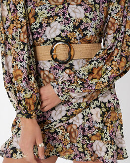 NATURAL WOMENS ACCESSORIES TIGERLILY BELTS - T405800NAT