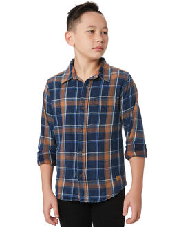 INDIGO CINNAMON KIDS BOYS RIDERS BY LEE TOPS - R-30094T-KR6