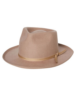SAND WOMENS ACCESSORIES LACK OF COLOR HEADWEAR - MENZULU1SAND