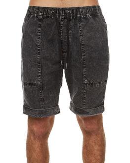 BLACK ACID RIP MENS CLOTHING ZANEROBE SHORTS - 609-TDKBKACRP