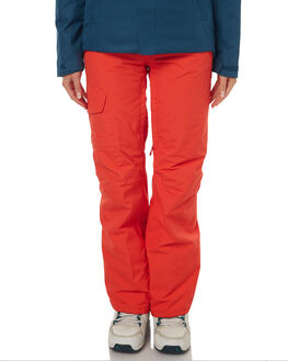 RED SNOW OUTERWEAR THE NORTH FACE PANTS - NF0A3337H9KRRED