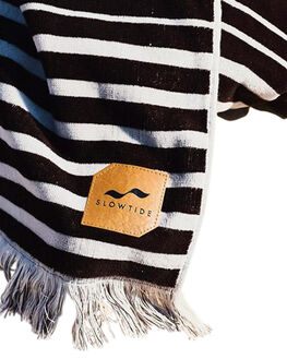BLACK MENS ACCESSORIES SLOWTIDE TOWELS - ST159BLK