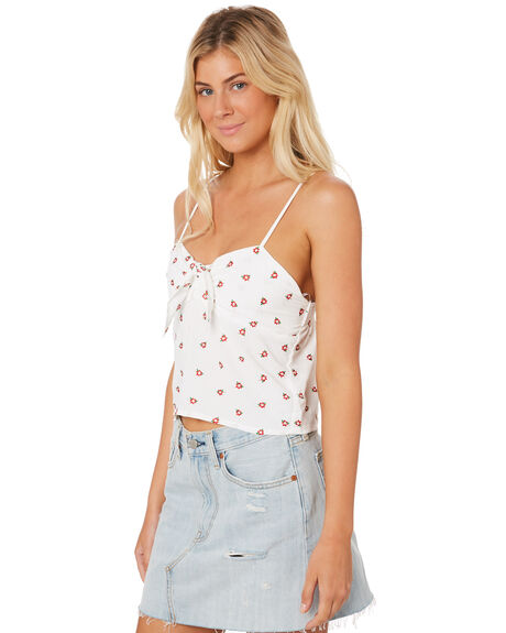 WHITE OUTLET WOMENS ALL ABOUT EVE FASHION TOPS - 6403080WHT