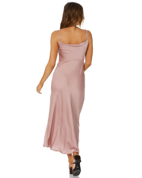 MAUVE SWOON WOMENS CLOTHING FREE PEOPLE DRESSES - OB1113597MAUV