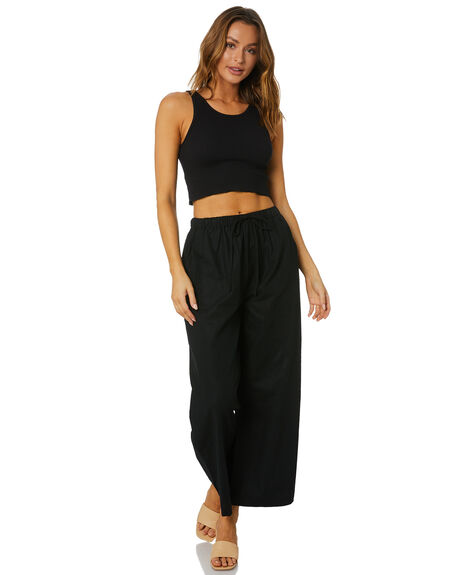 BLACK WOMENS CLOTHING SNDYS PANTS - SEP200BLK