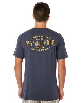 NAVY MENS CLOTHING RHYTHM TEES - JUL18M-PT04NAV