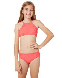 RASPBERRY KIDS GIRLS SEAFOLLY SWIMWEAR - 27036RASP