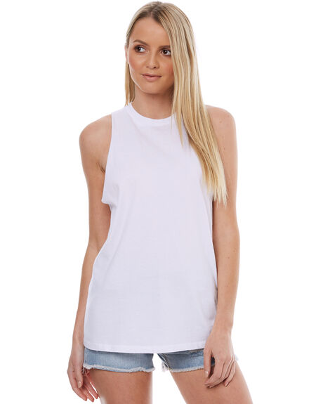 WHITE WOMENS CLOTHING SWELL SINGLETS - S8174275WHITE