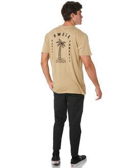 KHAKI MENS CLOTHING SWELL TEES - S5193012KHAKI