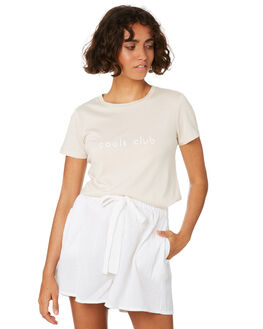 CASHEW WOMENS CLOTHING COOLS CLUB TEES - 100-CW1CAS