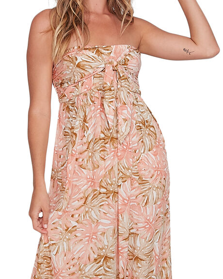 CREAM WOMENS CLOTHING BILLABONG DRESSES - BB-6504485-CRM