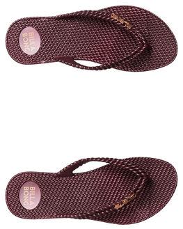 WINE WOMENS FOOTWEAR BILLABONG THONGS - 6661858WINE