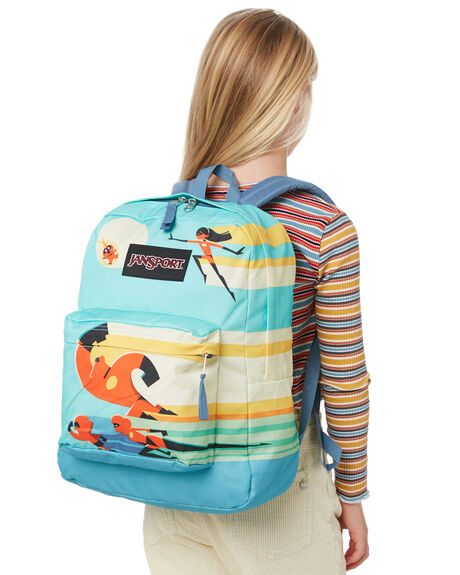 FAMILY CHARGE KIDS BOYS JANSPORT BAGS + BACKPACKS - JS0A3P1FJS52V