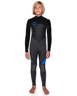 BLACK/BLACK/CYANINE BOARDSPORTS SURF QUIKSILVER BOYS - EQBW103029-XKBC