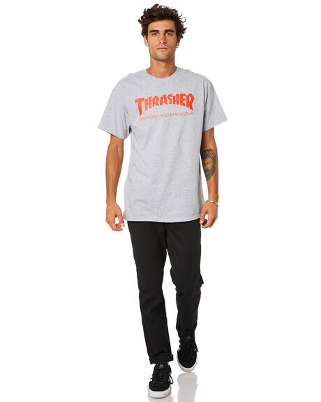 GREY MENS CLOTHING THRASHER TEES - 20065101GRY