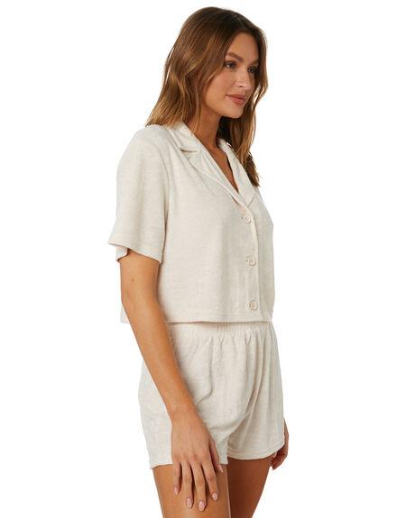 LIGHT FENNEL WOMENS CLOTHING RUSTY FASHION TOPS - FSL0581LFN