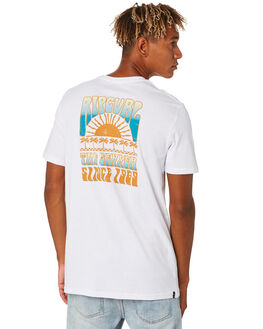 WHITE MENS CLOTHING RIP CURL TEES - CTEYH21000