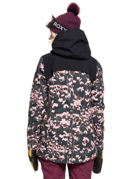TRUE BLACK POPPY BOARDSPORTS SNOW ROXY WOMENS - ERJTJ03225-KVJ3