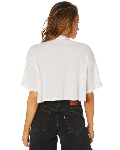 WHITE OUTLET WOMENS JAGGER AND STONE TEES - JS128WHT