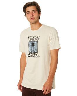 WHITE FLASH MENS CLOTHING VOLCOM TEES - A5231904WHF