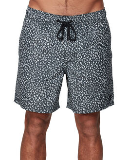 BLACK MENS CLOTHING RVCA BOARDSHORTS - RV-R307402-BLK