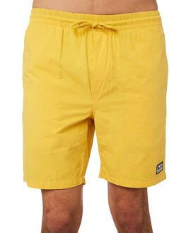 DUSTY YELLOW MENS CLOTHING OBEY SHORTS - 172120028YEL