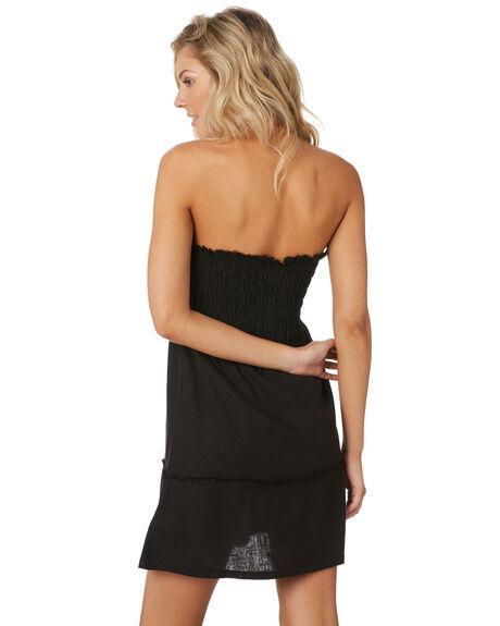 BLACK WOMENS CLOTHING RUSTY DRESSES - DRL1018BLK