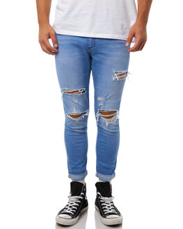 BLUE MEANIE MENS CLOTHING WRANGLER JEANS - W-901244-EP6BLUME