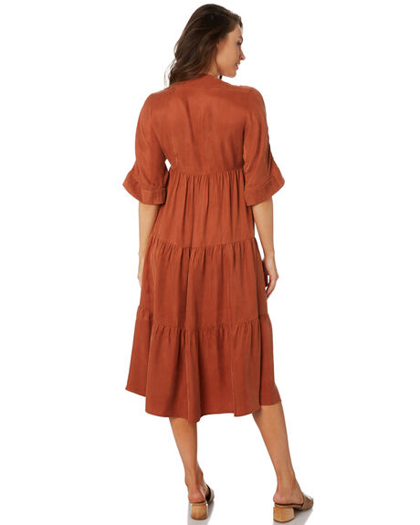 TERRACOTTA WOMENS CLOTHING SANCIA DRESSES - 893ATERR