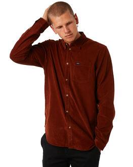 RUST MENS CLOTHING RVCA SHIRTS - R181186RUST