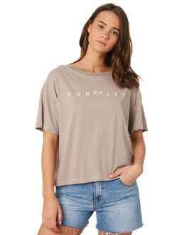CANVAS WOMENS CLOTHING HURLEY TEES - CK0673-706